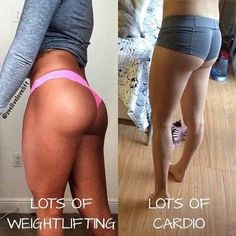 Ladies, don't be afraid to lift heavy! #Squats #WeightLifting