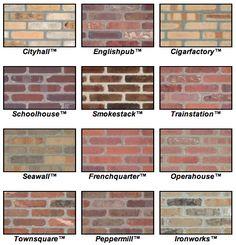 Diy faux brick wall step by step tutorial 48 Brick Calculator, Faux Brick Walls, Brick Veneer Wall, Thin Brick Veneer, Brick Face, Brick Companies, Brick Colors, Old Bricks, Exposed Brick