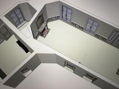 Salon et salle à manger 3D SKP