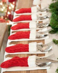 Ιδέες Για Το Στόλισμα Του Χριστουγεννιάτικου Τραπεζιού / Christmas Table Decoration Ideas