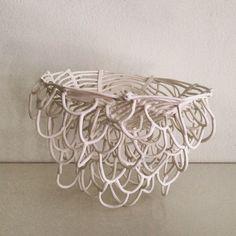 Julie Pennington porcelain sculpture.