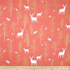 Cotton Chenille Burp Cloth  Timber Valley Deer by FinleyandOden