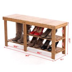 amazoncom songmics 2tier shoe bench boot organizing rack entryway storage shelf