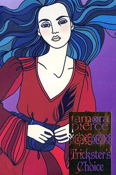 """""""Trickster's Choice"""" Book One of the """"Trickster"""" (aka """"Daughter of the Lioness"""") duology. By Tamora Pierce. 2004 Scholastic Point cover."""