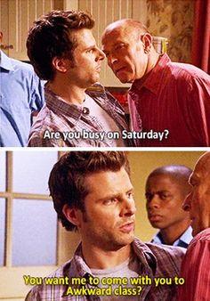 Bahaha! #awkwardclass #psych