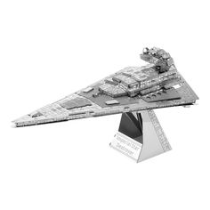Metal Earth 3D Laser Cut Model Star Wars Imperial Star Destroyer by Fascinations, Multicolor
