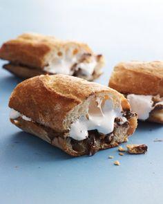 Hazelnut Smores Sandwich