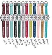 Pavé Bezel Birthstone Watch $12.99 Purchase at:  www.youravon.com/pamelataylor