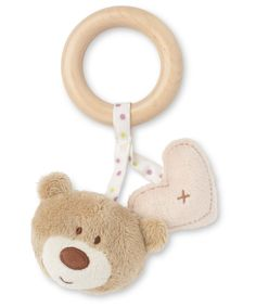 Mothercare Loved So Much Wooden Rattle