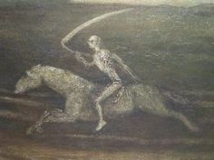 Albert Pinkham Ryder, The Race Track, Death on a Pale Horse, Cleveland Museum
