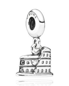 PANDORA Charm - Sterling Silver Colosseum Rome | Bloomingdales