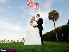 Eric Trump and Lara Yunaska at their Nov 2014 wedding at Mar-a-Lago club in Palm Beach, Florida. They picked the spot because of its romantic ambiance and also because it holds significance - it's where his dad, Donald, and Melania married in 2005 Eric Trump, Donald Trump, Donald Jr, John Trump, Trump Kids, Trump Children, Trump Wedding, The Quiet Man, Palm Beach Wedding