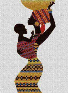 africa madre bebé