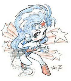 Wonder Woman_cartoonized by tombancroft.deviantart.com on @deviantART