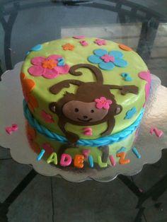 Monkey cake by Dulce Galeria