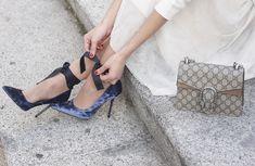 Tulle Skirt With Velvet Heels | BeSugarandSpice - Fashion Blog