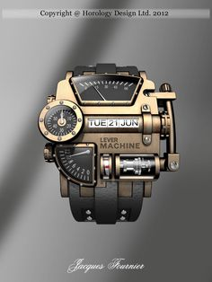 Steampunk Concept Watch Design