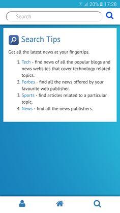 NewsList - Curated News Feed- screenshot