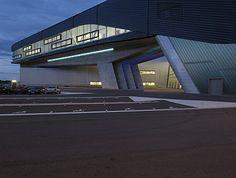 BMW Werk Leipzig, Zentralgebäude  Einführung Inhalte, ZAHA HADID ARCHITEKT