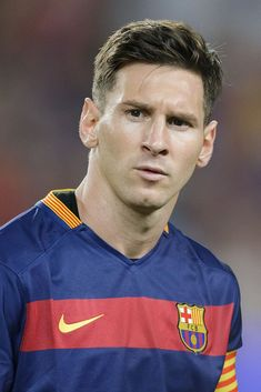 Lionel Messi of FC Barcelona during the Joan Gamper Trophy match between Barcelona and AS Roma on August 2015 at the Camp Nou stadium in Barcelona, Spain.(Photo by VI Images via Getty Images) Fc Barcelona, Lionel Messi Barcelona, Messi 2016, Messi Videos, Lionel Messi Wallpapers, Isco, Camp Nou, Best Player, Male Beauty