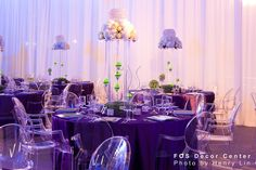 Tennis Themed Bar Mitvah Centerpiece & tablescape | Toronto Wedding events planning
