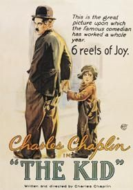 Directed by Charles Chaplin. With Charles Chaplin, Edna Purviance, Jackie Coogan, Carl Miller. The Tramp cares for an abandoned child, but events put that relationship in jeopardy. Iconic Movie Posters, Cinema Posters, Movie Poster Art, Iconic Movies, Charlie Chaplin, Beau Film, The Kid 1921, Film Mythique, Famous Comedians