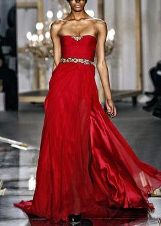 Jason Wu - red dress - 2011