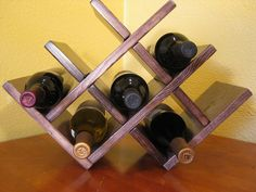 Wine Rack- could be my boys project for next time he's on holidays:)