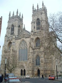 York Minster is one of the largest gothic cathedrals in Northern Europe.