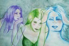 PENSAMIENTO #love #art #watercolor #paintings #illustration
