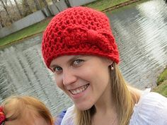 Big Bow Beanie--Free Crochet Pattern!