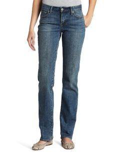 Levi's Misses Classic Bold Curve ID Straight Jean by favejeans
