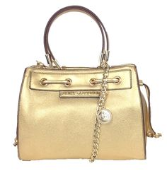 Juicy Couture Robertson Metallic Leather Mini Daydreamer, Gold