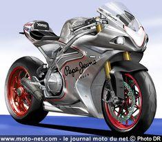 Nouveauté 2017 : Norton croque sa future moto sportive V4 1200 cc