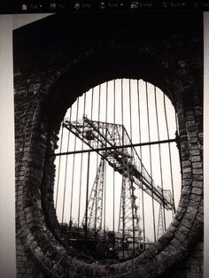 The Transporter Bridge..we built bridges all over the world from San Francisco to the Sydney Harbour Bridge..made with steel from Teesside Copyright to Gary Hill