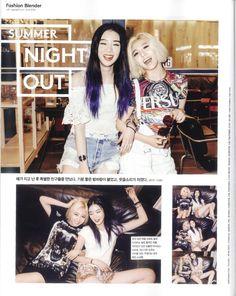 Irene Kim & Miss A's Min