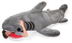 Shark sleeping bag #funny #cold weather sleeping bags
