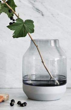 The Muuto Elevated Vase is about doing something exceptional for your flowers.