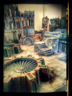 40k Terrain, City Fight Table, Forgeworld Terrain, Imperial Industrial Sector, Terrain