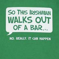 Irish joke of the day... haha