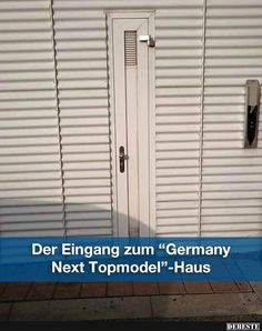 Der Eingang zum 'Germany Next Topmodel'-Haus..