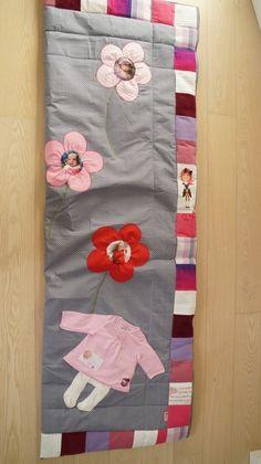 Patchwork-Schlafsack aus alten Babysachen