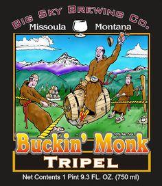 Big Sky Brewing Company Buckin' Monk Tripel