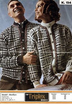 Ravelry: Nordlys pattern by Sandnes Garn Knitting Charts, Hand Knitting, Norwegian Knitting, Fair Isle Pattern, Fair Isle Knitting, Vintage Knitting, Cardigans For Women, Knit Cardigan, Blazer