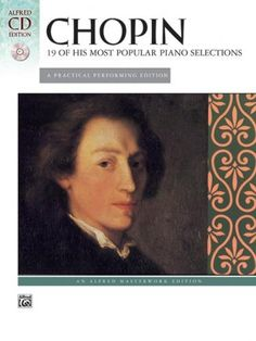 Chopin: 19 Most Popular Piano Pieces (Book & CD)