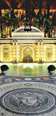Luxury Estate #Versace - #LadyLuxuryDesigns