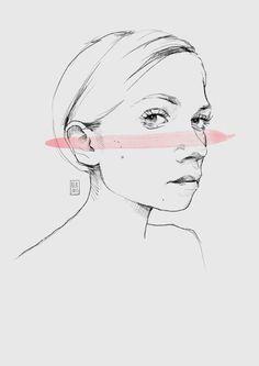 Tavi Gevinson, Illustration, 2015. Body Sketches, Art Sketches, Cute Illustration, Character Illustration, Tavi Gevinson, Character Design Inspiration, Art And Architecture, Pretty Pictures, Art Forms