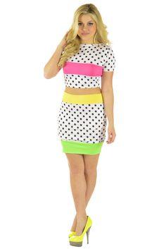 Polka Dots White Dress | Sexyback Boutique