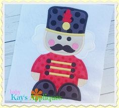 Nutcracker Soldier Boy Applique - 4 Sizes! | What's New | Machine Embroidery Designs | SWAKembroidery.com Baby Kay's Appliques