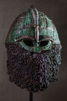 Picture of a viking helmet